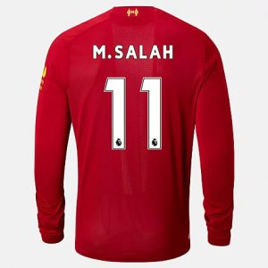 Liverpool FC Home LS Jersey Salah No EPL Patch - New Balance