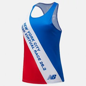 Virtual TCS New York City Marathon Printed Singlet - New Balance