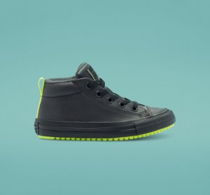 Leather & Reflective Chuck Taylor All Star Street Boot