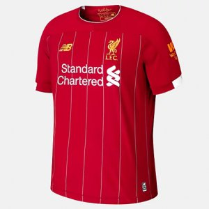 Liverpool FC Home SS Jersey No EPL Patch - New Balance