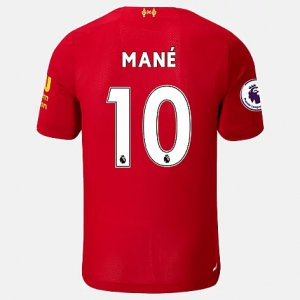 Liverpool FC Home SS Jersey Mane EPL Patch - New Balance