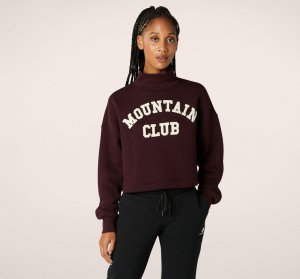 Mountain Club Cropped Turtleneck