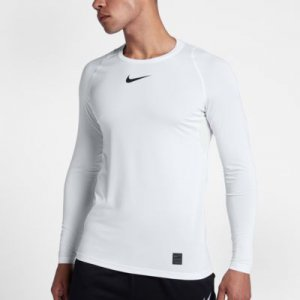 Nike Pro Top Men's Fitted Long-Sleeve Top.