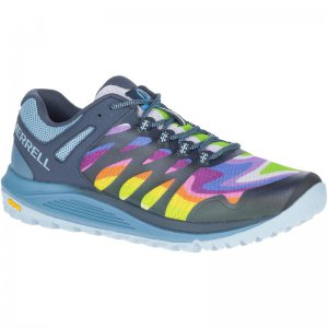 Men's Nova 2 Rainbow Wide Width Trail Running Shoes | Merrell