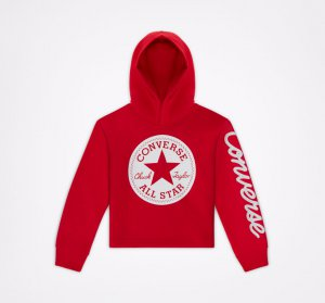 Chuck Taylor Patch Cropped Hoodie