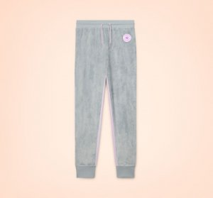 Velour Taped Colorblocked Jogger