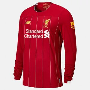 Liverpool FC Home LS Jersey EPL Patch - New Balance