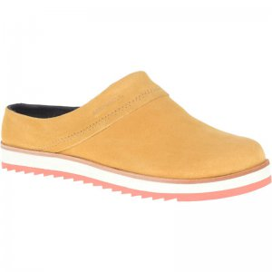 Women's Juno Clog Suede Casual Shoes | Merrell