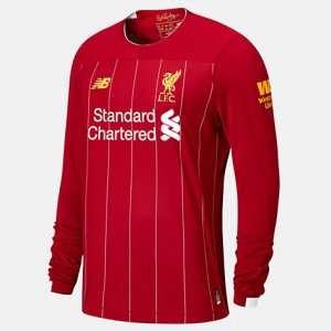 Liverpool FC Home LS Jersey No EPL Patch - New Balance