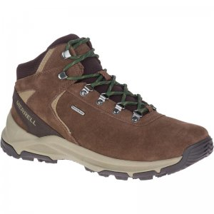 Men's Erie Mid Waterproof Wide Width Hiking Boots | Merrell