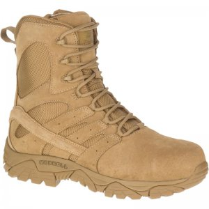 "Moab 2 8"" Defense Zip Comp Toe Boot Wide Width Tactical Boots 