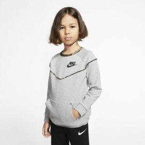 Nike Sportswear Tech Fleece Little Kids' Crew.