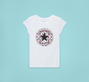 Berry Print Chuck Taylor Patch Short Sleeve Tee