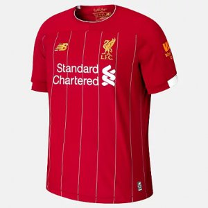 Liverpool FC Home SS Jersey EPL Patch - New Balance