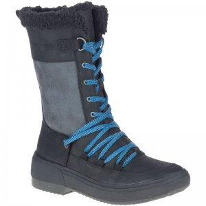 Women's Haven Tall Lace Polar Waterproof Winter Casual Boots | Merrell