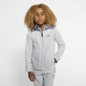 Nike Dri-FIT Little Kids' Winterized Full-Zip Hoodie.