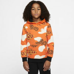Nike Sportswear Little Kids' Fleece Pullover Hoodie.