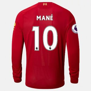 Liverpool FC Home LS Jersey Mane EPL Patch - New Balance