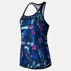 Printed Accelerate Tank - New Balance