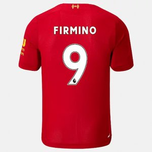 Liverpool FC Home SS Jersey Firmino No EPL Patch - New Balance