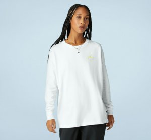 Ascend Any Mountain Long Sleeve Oversized Tee