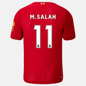 Liverpool FC Home SS Jersey Salah No EPL Patch - New Balance
