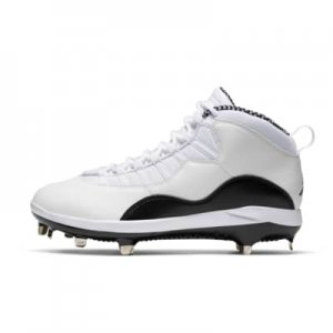 Jordan Retro 10 Metal Men's Baseball Cleat.