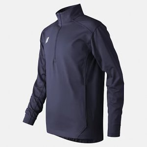 Jr Solid Half Zip - New Balance