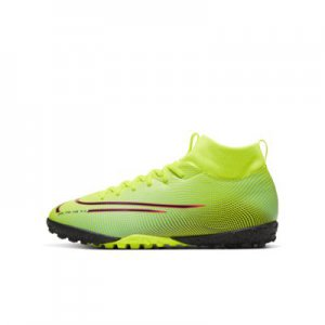 Nike Jr. Mercurial Superfly 7 Academy MDS TF Little/Big Kids' Artificial-Turf Soccer Shoe.