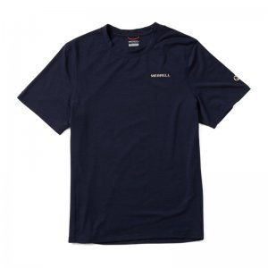 Men - Tencel Short Sleeve Tee - Short Sleeves | Merrell