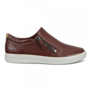 ECCO Soft 7 Women's Leather Slip-On Shoes | Women's Sneakers | ECCO Shoes