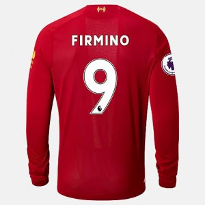 Liverpool FC Home LS Jersey Firmino EPL Patch - New Balance