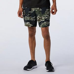 Printed Fortitech 7 inch Tech Short - New Balance