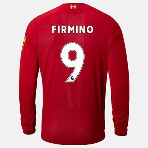 Liverpool FC Home LS Jersey Firmino No EPL Patch - New Balance