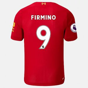 Liverpool FC Home SS Jersey Firmino EPL Patch - New Balance
