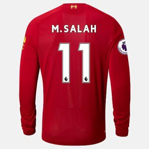 Liverpool FC Home LS Jersey Salah EPL Patch - New Balance