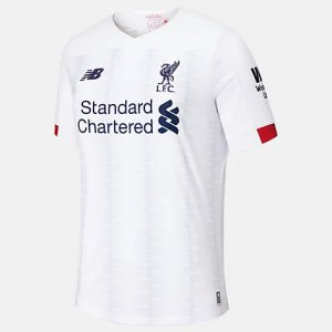Liverpool FC Away SS Jersey EPL Patch - New Balance